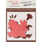 Wendy Vecchi STAMP-it Stencil-it: Freshly Picked WVSTST031