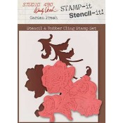 Wendy Vecchi STAMP-it Stencil-it: Garden Fresh WVSTST030