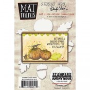Wendy Vecchi Mat Minis: Autumn Essentials WVMM017
