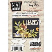 Wendy Vecchi Mat Minis: Basket of Art Coordinates