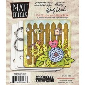 Wendy Vecchi Mat Minis: Fat Little Book WVMM08