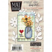 Wendy Vecchi Mat Minis: Flowers & Leaves WVMM015