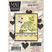 Wendy Vecchi Mat Minis: Have a Heart WVMM06