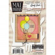 Wendy Vecchi Mat Minis: Hearts and Hands WVMM36