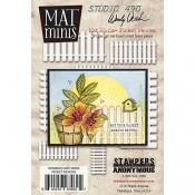 Wendy Vecchi Mat Minis: Picket Fences WVMM25