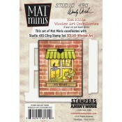 Wendy Vecchi Mat Minis: Window Art Coordinates WVMM32