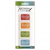 Wendy Vecchi Mini Archival Ink Pad Kit 4 - AMDK58960