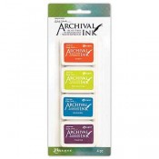 Wendy Vecchi Mini Archival Ink Pad Kit 6 AMDK64077