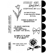 Wendy Vecchi Cling Mount Stamps - Exceptional Art SCS142