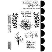 Wendy Vecchi Cling Mount Stamps - Flourishing Art SCS148