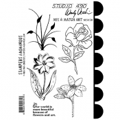 Wendy Vecchi Cling Mount Stamps - Mix & Match Art SCS150