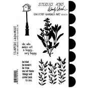 Wendy Vecchi Cling Mount Stamps - Country Garden Art SCS151
