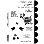 Wendy Vecchi Cling Mount Stamps - Art From The Nest SCS155