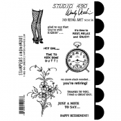 Wendy Vecchi Cling Mount Stamps - No Ring Art SCS156