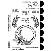 Wendy Vecchi Cling Mount Stamps - Special Art SCS160
