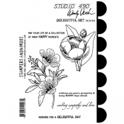Wendy Vecchi Cling Mount Stamps: Delightful Art SCS164