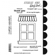 Wendy Vecchi Cling Mount Stamps: Window Art SCS169