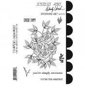 Wendy Vecchi Cling Mount Stamps: Awesome Art SCS172