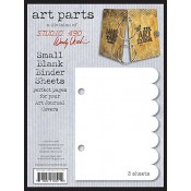 Wendy Vecch: Small Blank Binder Sheets - WVSBLK