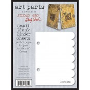 Wendy Vecchi Small Blank Binder Sheets - WVSBLK