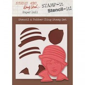 Wendy Vecchi STAMP-it Stencil-it: Paper Doll WVSTST035