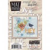 Wendy Vecchi Mat Minis: Words WVMM019