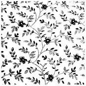 Wendy Vecchi Background Stamp: Faded Floral WVBG046