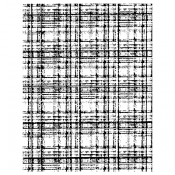 Wendy Vecchi Background Stamp - Plaid Flannel WVBG054