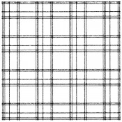 Wendy Vecchi Background Stamp - Custom Plaid WVBG062