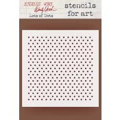 Wendy Vecchi Stencils for Art - Lots of Dots WVSFA040