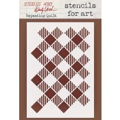 Wendy Vecchi Stencils for Art - Repeating Quilt WVSFA041