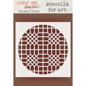 Wendy Vecchi Stencils for Art - Circle Grate WVSFA052