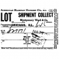 Tim Holtz Wood Mounted Stamp - Shipment Collect M4-3021