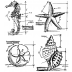 Tim Holtz Cling Mount Stamps - Nautical Blueprint CMS194