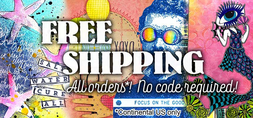 Free Shipping at Stampers Anonymous!