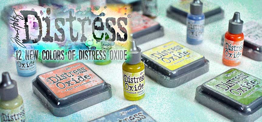New Distress Oxide Ink Pads